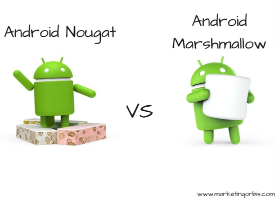 Android Nougat vs Android Marshmallow