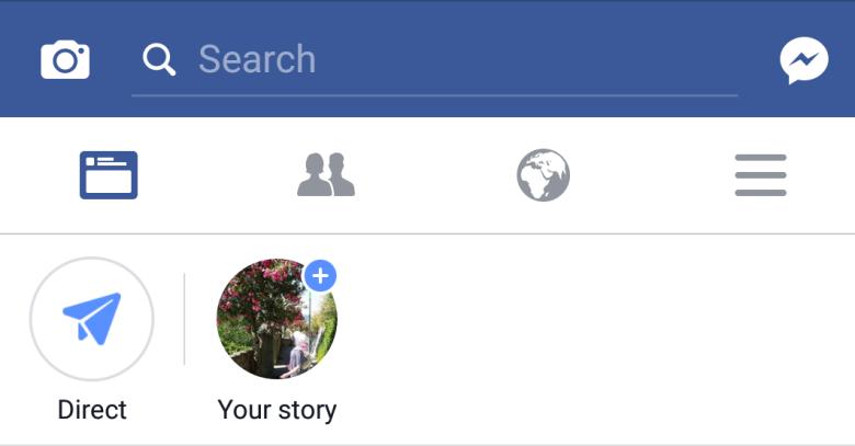 FB story početak