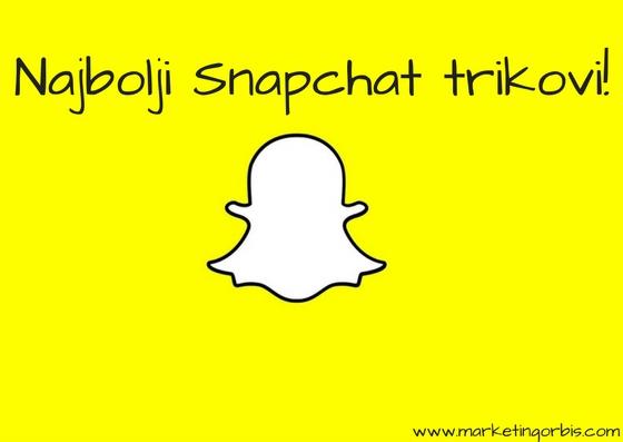 Najbolji Snapchat trikovi!