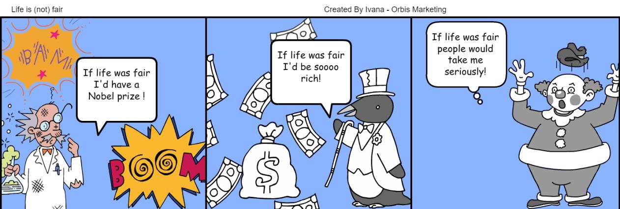 Strip život je nepošten