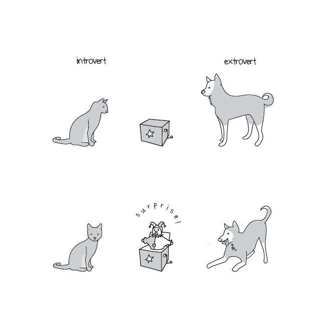 introvert i ekstrovert